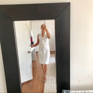 White shirt dress from ASOS in size 6